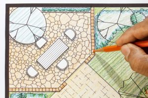 How to lay a patio 12